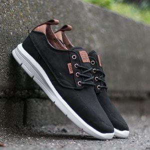 New VANS Brigada Lite Black Suede Sneakers